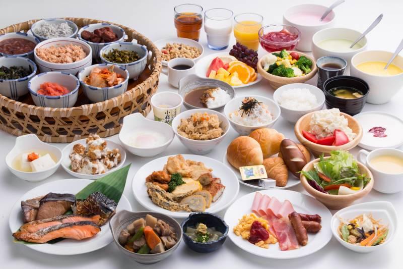 ホテルフォルツァ博多(筑紫口) 朝食