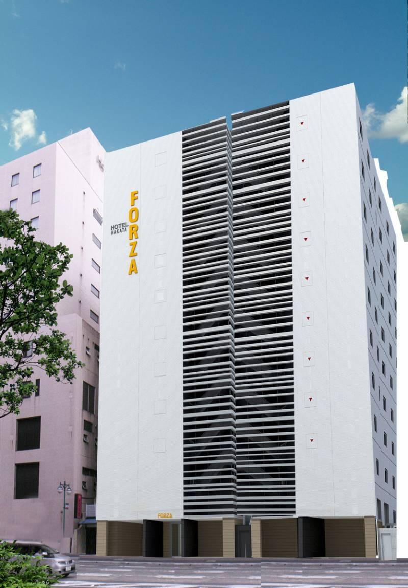 【福岡・ホテルフォルツァ博多(筑紫口)】8月に新棟開業のお知らせ