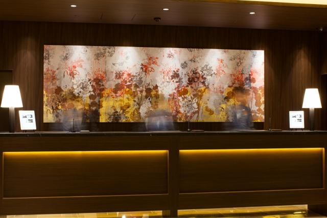 【福岡・ホテルフォルツァ博多】フォルツァを彩るアート