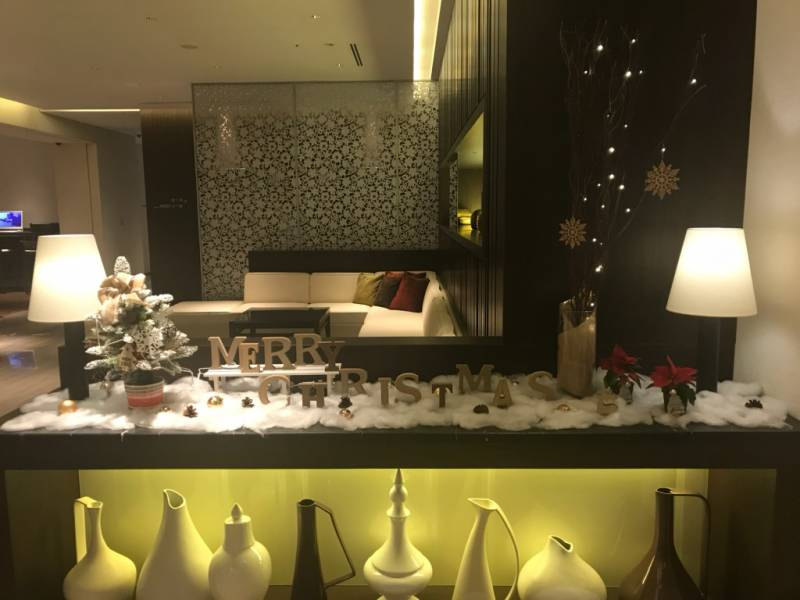 【福岡・ホテルフォルツァ博多(筑紫口)】クリスマス装飾のご紹介♪