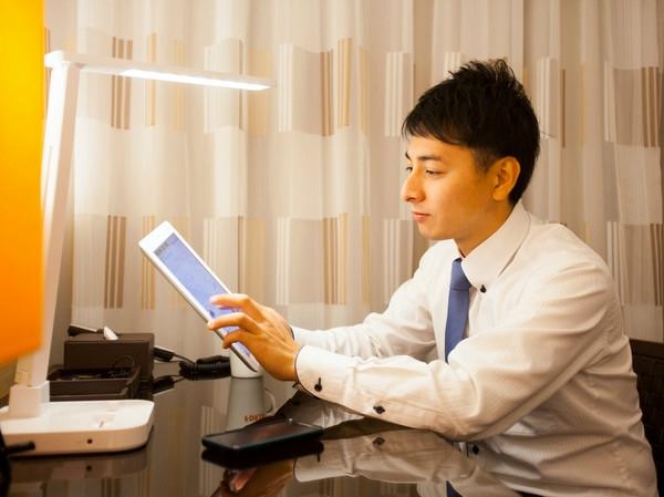 【福岡・ホテルフォルツァ博多】全客室に無料で利用いただけるiPadを設置!