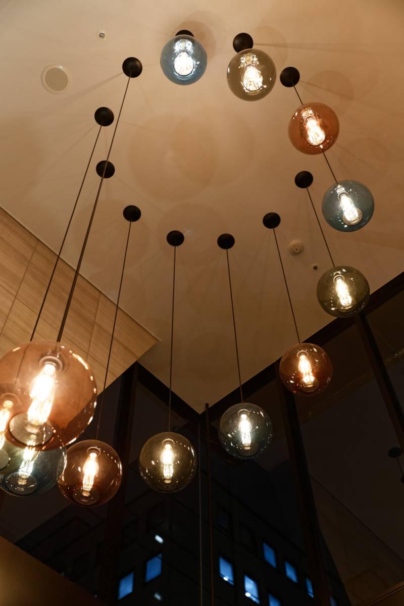 【福岡・ホテルフォルツァ博多駅博多口】あたたかな灯りがともりました