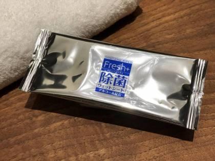 新型コロナウイルス感染予防対策【除菌ウェットシート】