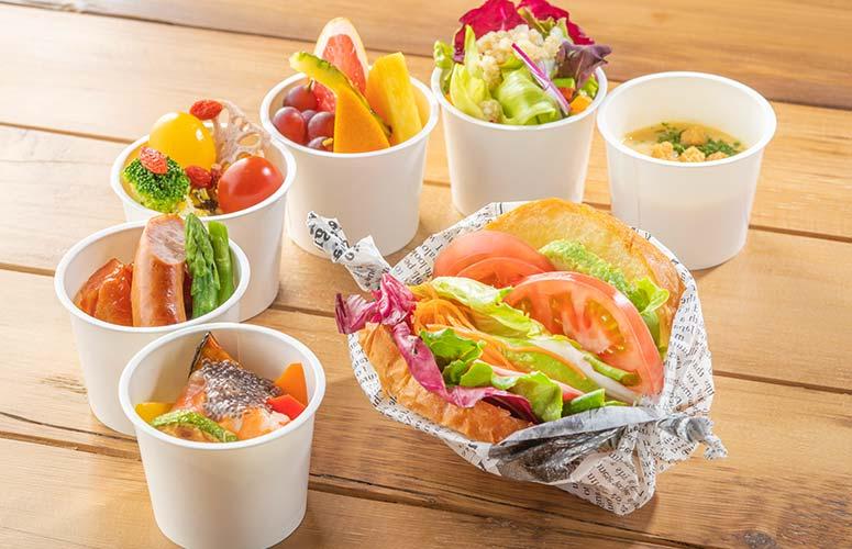 FORZAを意味する「元気・活力」を朝食でチャージしてください